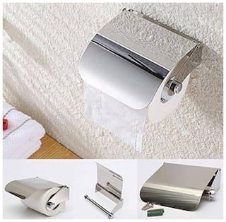 Kurvz Pure stainless steel chrome polish toilet paper holder