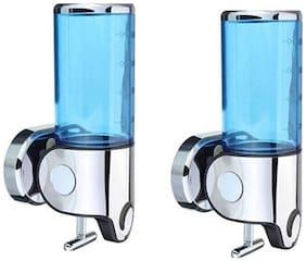 Kurvz Push Button Liquid Soap, Lotion, Shampoo Dispenser- Pack of 2