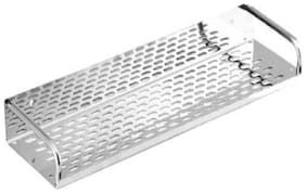 Kurvz Stainless Steel Bathroom and Kitchen Shelf 12inch