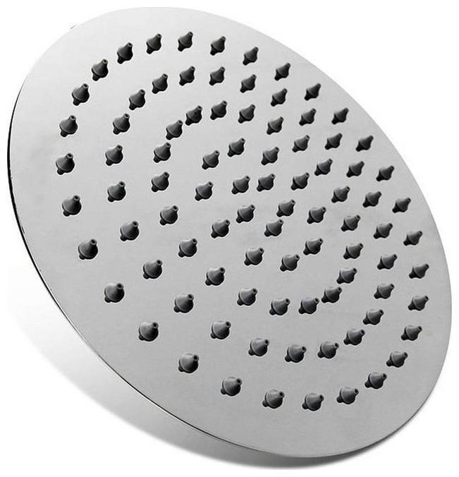 Kurvz Ultra Slim Round Shower Head 4x4 without arm by S B Enterprises