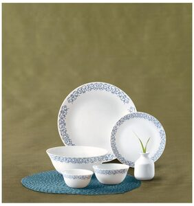 La Opala Diva 33 Pcs Royal Arch Dinner Set