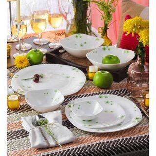La Opala Quadra 29 Pcs DewDrops Dinner Set