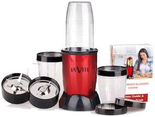 LA'VITE LVMBCHER-001 380 W Centrifugal Juicer ( Red , 3 Jars )