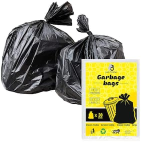 Lady Thikhai Biodegradable Dustbin Bags for home and office use/Biodegradable Garbage bags 21x26inch (Pack of 2)