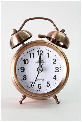 Laps of Luxury Brown Alarm Clock