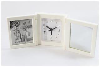 Laps of Luxury Acrylic Analog Table clock ( Set of 3 )