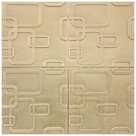 Larbenz Pvc Square Wallpaper (70 cm X 70 cm)- Set of 1