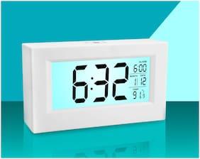 JAZAM Plastic Digital Table clock ( Set of 1 )