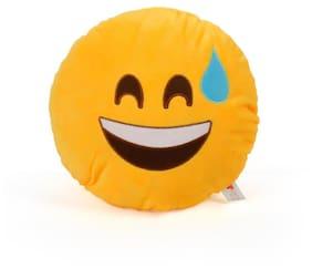 Cortina Laughing Smiley Pillow-002