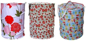 Caryn Cotton Assorted Laundry Basket ( Set of 3 )