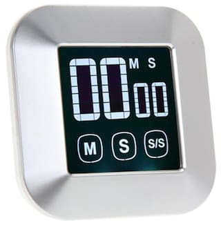 Lcd Digital Touch Screen Practical Kitchen Cooking Timer Alarm Clock