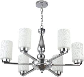 LeArc Designer Lighting Contemprory Glass Metal Wood Chandelier CH388