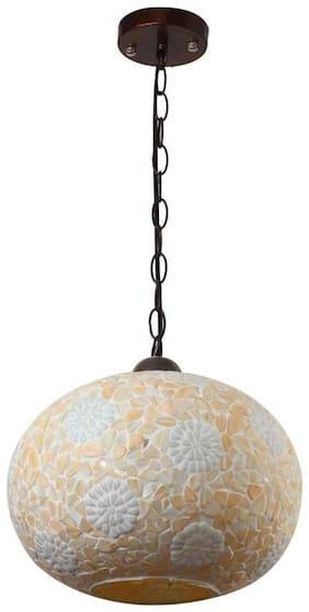 LeArc Designer Lighting Glass Pendent Single HL3847