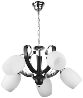 LeArc Designer Lighting Contemporary Glass Alloy Wood Chandelier CH343