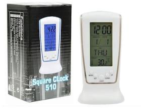 FUNKY DEAL White Alarm clock