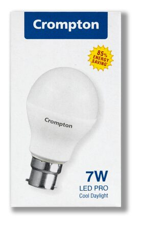 Crompton 7 Watt B22 LED Bulb, Cool Day Light