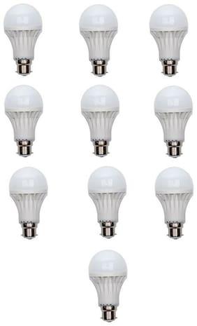9-Watt LED Bulb Cool Daylight (Pack Of 10)