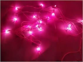 LED Fairy String Lights, Indoor and Outdoor Decoration String Lights , DIWALI  special Wedding Events Garden Bedroom pink
