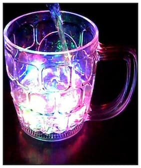 LED Flashing 7 Color Changing Liquid Activated Mug For Parties & Gifting
