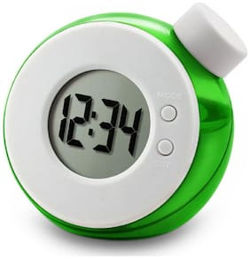 Zydeco Plastic Digital Table clock ( Set of 1 )