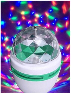 LED ROTATING BULB IN MULTICOLOR - 1 PC