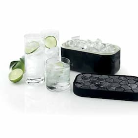 Lekue Ice Box Silicone Ice Cube Tray And ABS Storage Box