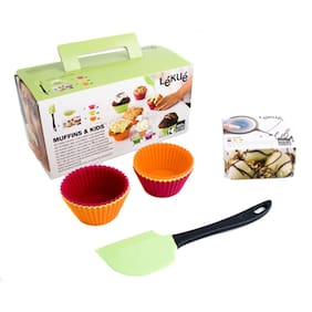 Lekue Muffin And Kid Kit-Assorted Colors