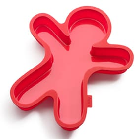 Lekue Silicone Gingerman Cake Mould-1500 Ml