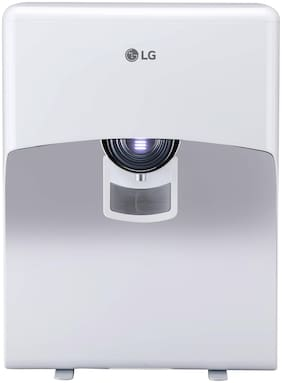 LG WW121EP 8 L RO Water Purifier With Dual Protection Stainless Steel Tank, Wall Mount  (White)