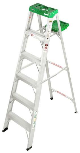 Liberti Aluminium Step Ladder With Utility Tray - 5 Step