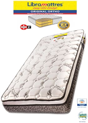 Libramattres 6 inch Coir Single Mattress