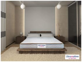 Libramattres 4 inch Coir Queen Mattress