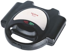 Lifelong 116 GRILLER 4 slice Slices Sandwich Maker - Black