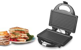 Lifelong LLSM115G2 2 slice Slices Sandwich Maker - Black