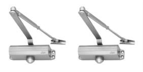 Link Locks Zinc Door fitting ( Set of 2 )