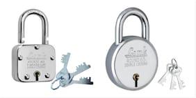 Link Locks Atoot 40;New Round 65 Hardend Shackle Double Locking Lock