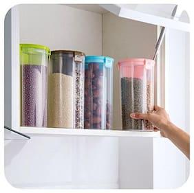 Lion LENDER 1500 ml Multi Plastic Container Set - Set of 4