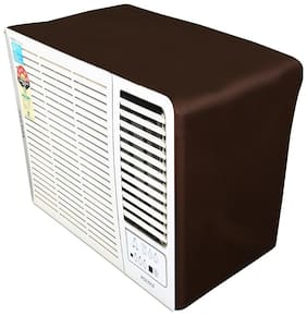 Lithara Coffee waterproof and dustproof window ac cover for LG LWA2CP1A L-Crescent Plus AC 0.75 Ton 1 Star Rating