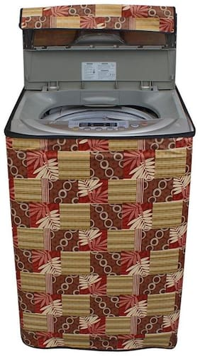 Lithara printed waterproof washing machine cover for WTEon650PFH FA 7kgfully automatic top load