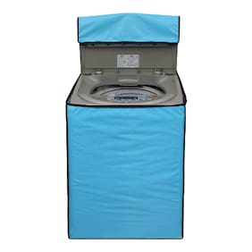 Lithara Sky Blue Covers for Samsung WA62K4000HD 6.2Kg Fully Automatic Top Loading Washing Machine