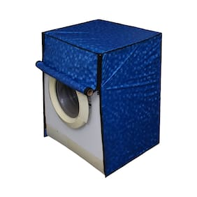 Lithara Washing Machine Cover for Fully Automatic Front Load LG FH8B8NDL22 6Kg Color Blue