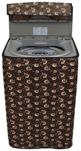 Lithara Waterproof & Dustproof printed Washing Machine Cover for Samsung Fully Automatic Washing Machine WA70H4020HP 7kg