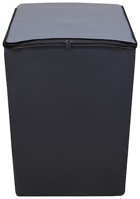 Lithara Waterproof & Dustproof Washing Machine Cover For Whirlpool bloomwash world series (8 kg) Fully Automatic Top Load washin