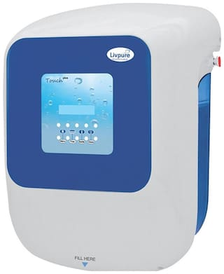 Livpure Touch 2000 Plus 8.5 L RO + UV + UF Electric Water Purifier