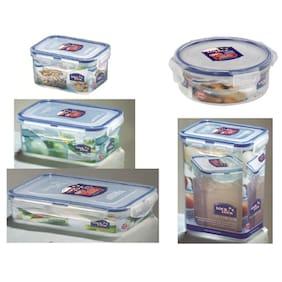 Lock & Lock Classic Storage Container (Set Of 5)