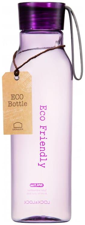 Lock & Lock 550 ml Plastic Violet Water Bottles - Set of 1