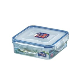 Lock & Lock Flat Rectangular Food Storage Container 430 ML (1 PC)