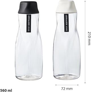 Lock & Lock 550 ml Plastic Assorted Water Bottles - Set of 2
