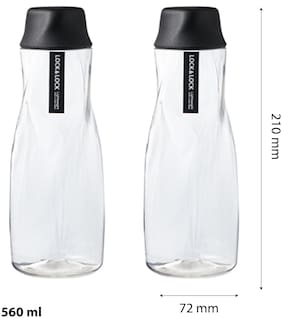 Lock & Lock Ice Berg Water Bottle 560ML (Set of 2)