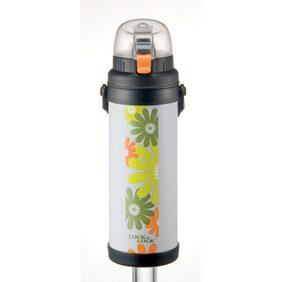 Lock & Lock Light Grey Stainless Steel Bottle 800 ML (1 PC)